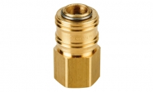 COMPRESSED AIR COUPLER WITH FEMALE THREAD