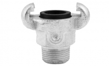 CLAW COUPLING WITH MALE THREAD