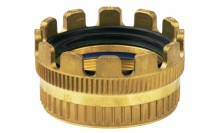 TANK TRUCK CROWN PIECE (MKV) BRASS